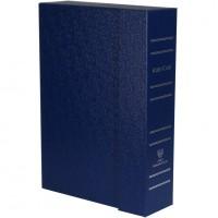 Albo Case на 4 кассеты (48 капсул). Синий