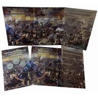 Альбом-планшет для 2, 5, 10-рублёвых монет, посвященных 200-летию Победы России в войне 1812 года
