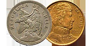 Монеты Чили