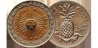 Монеты Америки