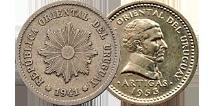 Монеты Уругвая