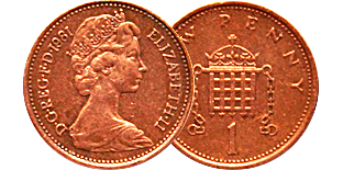 Монеты Елизаветы II (1952 г. и далее)