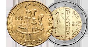 Монеты Сан Марино