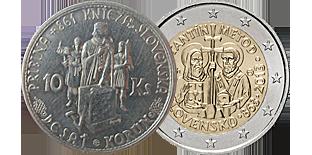 Монеты Словакии