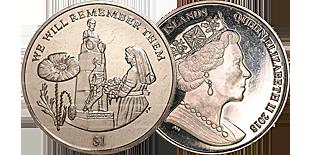 Монеты Виргинских островов