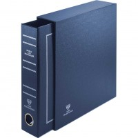 Футляр для папок толщиной 60 мм, цвет «Синий»