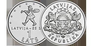 Листы для монет Прибалтика