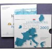 ЛЮКСЕМБУРГ евро набор 2003 UNC!! «100 ЛЕТ МОСТУ АДОЛЬФА»