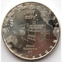 НИДЕРЛАНДЫ 5 евро 2013 ДОМ ШРЁДЕР