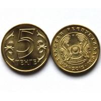 КАЗАХСТАН 5 тенге 2012 UNC!! (KM# 24)
