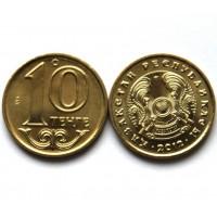 КАЗАХСТАН 10 тенге 2012 UNC!! (KM# 25)