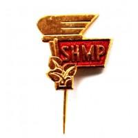 ЧЕХОСЛОВАКИЯ 1963-1968 знак на игле «SHMP» СПОРТИВНЫЕ ИГРЫ РАБОЧЕЙ МОЛОДЕЖИ