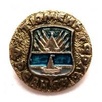СССР сувенирный нагрудный знак «ДРЕВНЯЯ РУСЬ» ТЮМЕНЬ