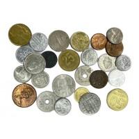 """Монеты мира - набор монет из 25 штук со всего мира. Серия """"Нумизматика""""."""