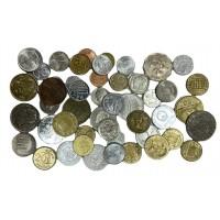 """Монеты мира - набор монет из 50 штук со всего мира. Серия """"Нумизматика""""."""
