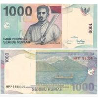 Индонезия 1000 Рупий 2016 год UNC P# 141n