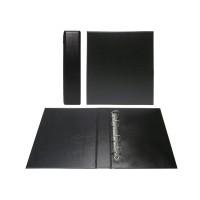 Альбом вертикальный 230х270 мм (Коллекция), широкий корешок, ПВХ (без листов)