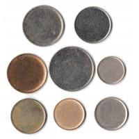 Полный комплект немагнитных заготовок для монет РФ регулярного чекана