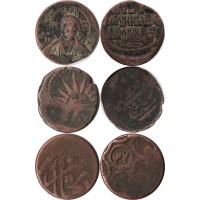 Подборка Античных монет 5 шт