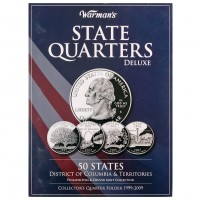 Альбом-планшет США «50 штатов и территории»