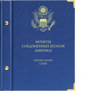 Крышка для альбома Памятные монеты Соединённых штатов Америки