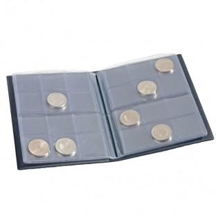 Карманный альбом для монет, 8 листов на 12 ячеек