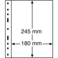 Лист для банкнот OPTIMA, 1 ячейка, прозрачный(10 штук), Leuchtturm