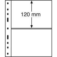 Листы для 2 бон Leuchtturm (Германия). Формат Optima. 10 шт.