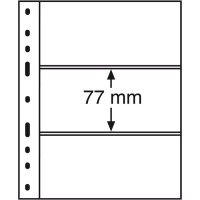 Листы для 3 бон, Leuchtturm (Германия). Формат Optima. 1 шт.